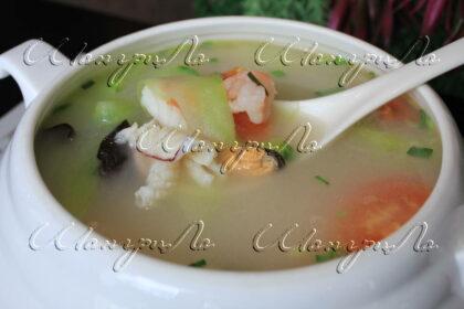 суп-из-морепродуктов-с-овощами